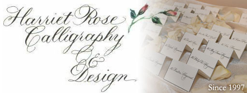 Rose Calligraphy Design