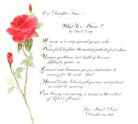 Nurses Prayers and Poems http://rosecalligraphy.com/poems.php