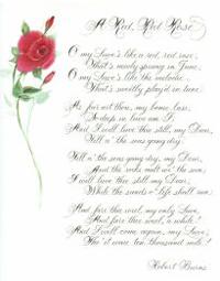 justin serut pink rose friends poem